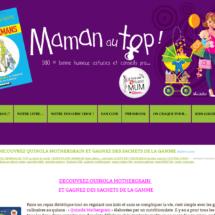 Quinola Mothergrain sur le blog de Maman au Top