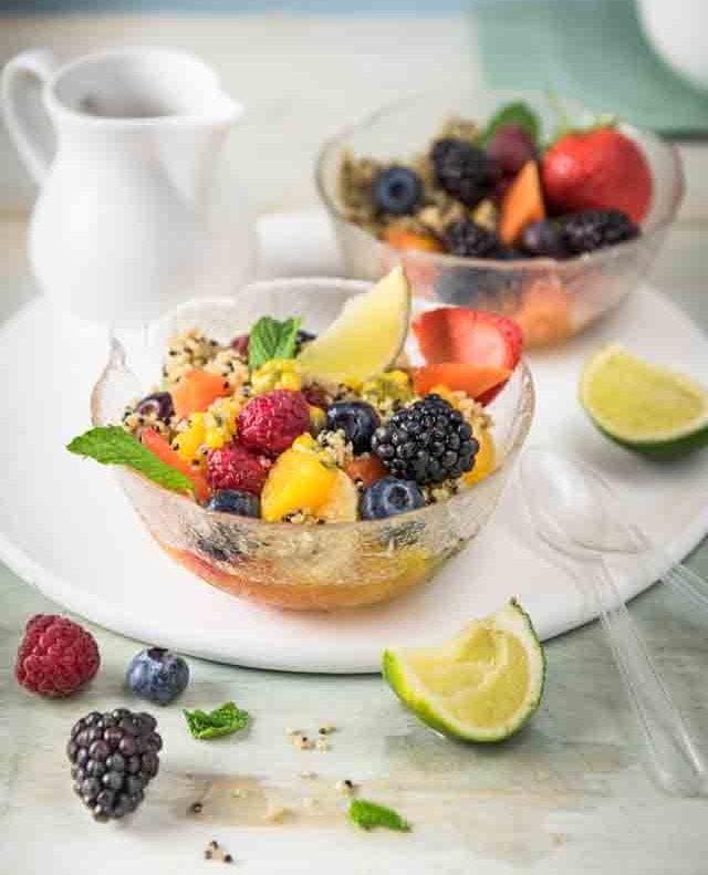 quinoa quinola fruit salad