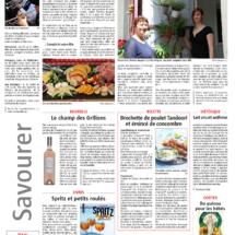 Parution dans le Journal L'Alsace, Juillet 2016