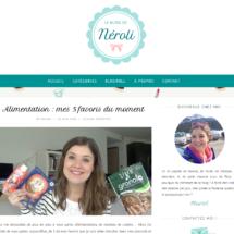 Parution sur le Blog de Néroli, Juillet 2016