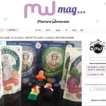 Parution sur le site Les Mamans Winneuses, Août 2016