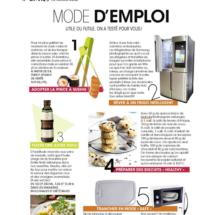 Parution dans le Magazine Mode & Travaux, Mai 2016