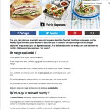 Les meilleures recettes de sandwich healthy Cosmopolitan.fr