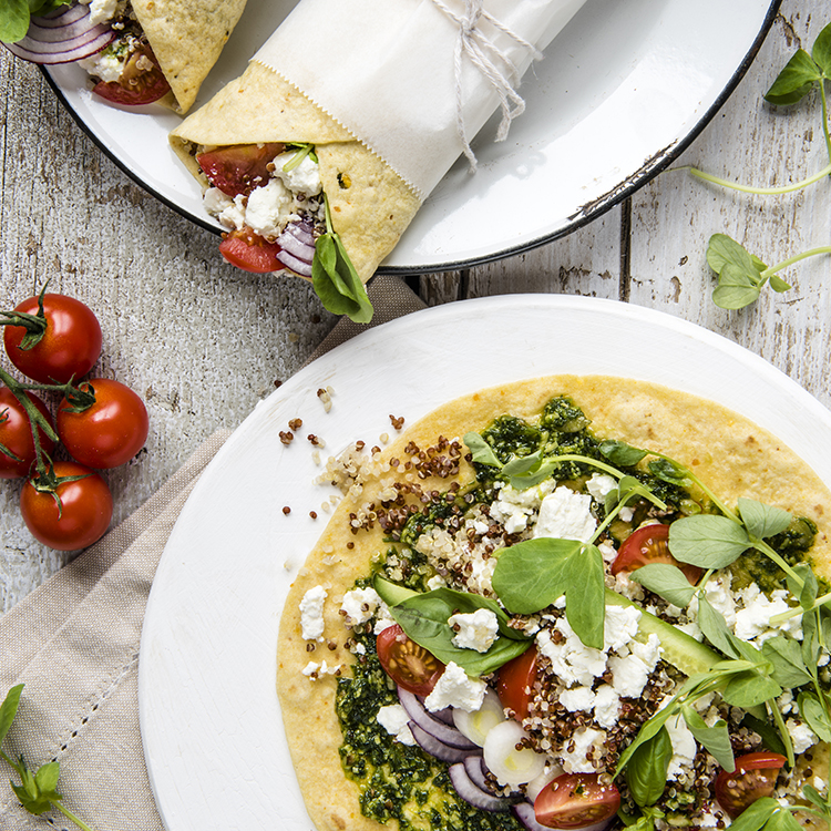 Quinoa Feta Wraps_750