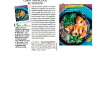 curry thaï rouge quinoa recette